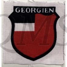 Ärmelabzeichen  'Georgien Legion' (Sleeve shield Georgian Legion)