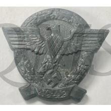 Spende abzeichen Tag der Polizei 1942 (Tinnie Tag der Polizei 1942)