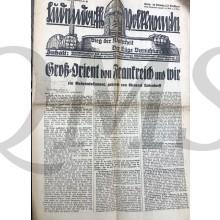 Wochenzeitschrift Ludendorffs Volkswarte Berlin 25-06-1933