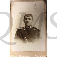 Studio portret german soldier WW1 Neu Ulm