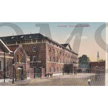 Prent briefkaart 1911 Arnhem , Willems Kazerne