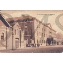 Prent briefkaart 1915  Willems Kazerne , Arnhem