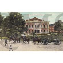 Prent briefkaart 1911 Arnhem , Willemsplein