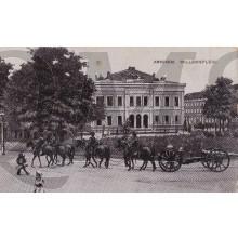 Prent briefkaart 1910 Arnhem , Willemsplein
