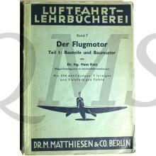Der Flugmotor Bauteile und Baumuster
