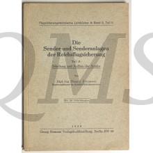 Die Sender und Sendeanlagen der Reichsflugsicherung. Teil II: Schaltung und Aufbau der Sender. (Flugsicherungstechnische Lehrbücher Band 3, Teil II)