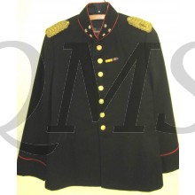 Tuniek met rij-broek, Kapitein Infanterie , gekleede tenue of gala pre 1940 (Dress uniform Captain Infantry pre 1940)