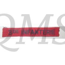 Naamlint 3e Infanterie