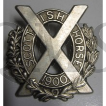 Scottish Horse Cap Badge