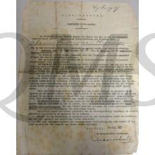 Bevel tot inleveren rijksgoederen Haarlem 1927