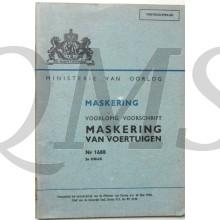 Voorlopig Voorschrift no 1688 Maskering van voertuigen