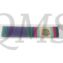General Service Medal (1962) and Gulf Medal with rosette, denoting entitlement to clasp