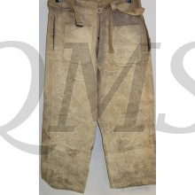 French wwII tanker trousers