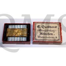Bayern. Feuerwehr-Ehrenzeichen nach 25jähriger Dienstleistung, 1885-1918 Ausgabe (Germany, Bavaria. Fire Service Decoration for 25 years' service, 1884-1918 issue)