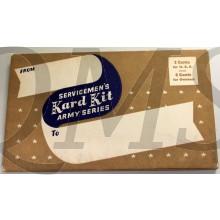 Servicemen's Kart Kit (Writing kit/22 Postcards)