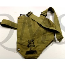 M1VA1 Army Service Gas Mask Carry Bag for the M1A2, M2, M2A1 & M2A2 Gas Mask.