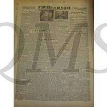 Krant Nieuwsblad van het Noorden zaterdag 5 jan 1944