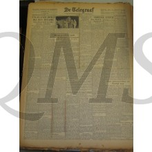 Krant de Telegraaf Woensdag 19 jan 1944