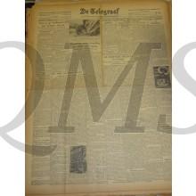 Krant de Telegraaf Dinsdag 4 jan 1944