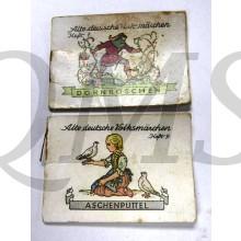 Alte deutsche Volksmärchen, Heft1 and  9: Aschenputtel. / Dornröschen