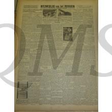 Krant Nieuwsblad van het Noorden zaterdag 27 nov 1943