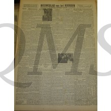 Krant Nieuwsblad van het Noorden donderdag 1 dec 1943