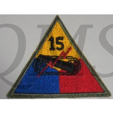 Mouwembleem 15e Armored Divison (Sleevebadge 15th Armored Division)