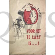 """""""Tik-tak Voor Het Te Laat Is"""" van Max Blokzijl"""