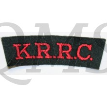 Kings Royal Rifle Corps KRRC (King's) Regiment