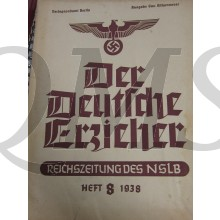 Monatsblad Der Deutsche Erzieher no 8 1938