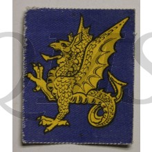 Formation patch 43rd (Wessex) Infantry Division (canvas)