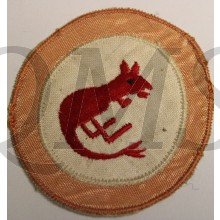 "Formation patch 7th Armoured Division ""Desert Rats"" (1st patt)"