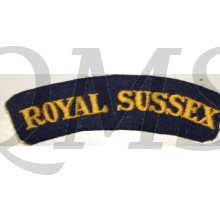 Shoulder flash Royal Sussex Regiment