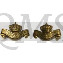 Schouder emblemen Garderegiment Fuseliers Prinses Irene
