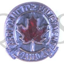 Lapel badge Participent for Enlistment CANADA