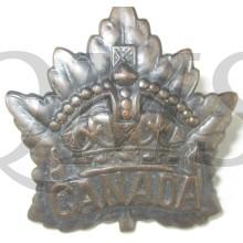 WW1 Canadian General Service Cap Badge