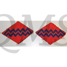 Formation patch Royal Canadian Artillery (1st and 2nd AGRA) (canvas)