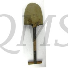 U.S. M1910 T Shovel with canvas carrier