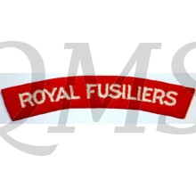 Shoulder flash Royal Fusiliers