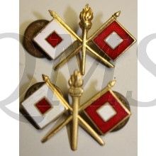 WW II U.S. Army Signal Corps Officers Branch Insignia