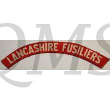 Shoulder flash South Lancashire Fusiliers (canvas)