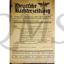 Deutsche RichterZeitung 1935