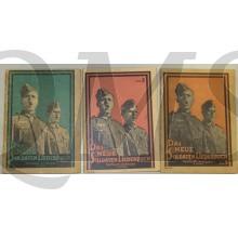 Liederbucher der Wehrmacht 3 teile (Songbooks of the Wehrmacht part 1,2,and 3)