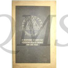 Brochure de veertiende december 1941 beslissend voor de toekomst van ons volk