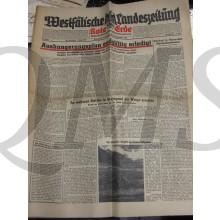 Westfalische Landeszeitung 26/27 september 1942