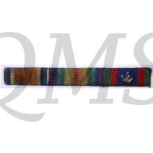 Ribbon bar war medal 1914-18 Victory medal Candian Voluntair medal