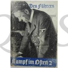 WhW Miniature booklet, Heinrich Hoffmann. Des Führers Kampf im Osten. Vol. 2