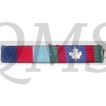 Ribbon bar 1939-1945 Star and Canadian Vulonteer medal