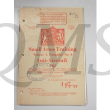 Manual Small Arms Training Vol 1 Pamphlet no 6 1942
