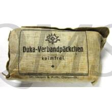 DUKA verbandpäckchen WK2 (First aid bandage DUKA WW2)